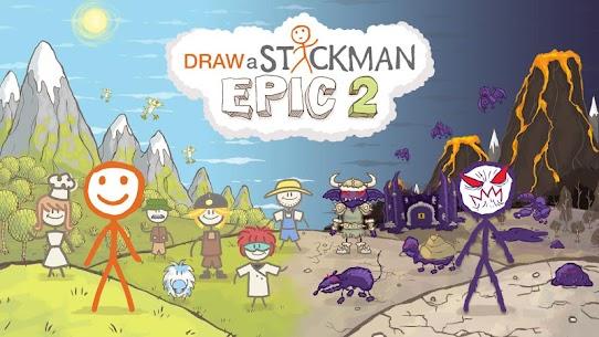Draw a Stickman: EPIC 2 MOD Apk 1.5.18335 (Unlimited Health) 1
