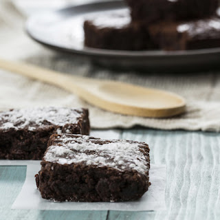 Fudgy Chocolate Chickpea Brownies.