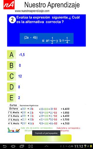Evaluar  Expresiones 1.0.0 screenshots 5