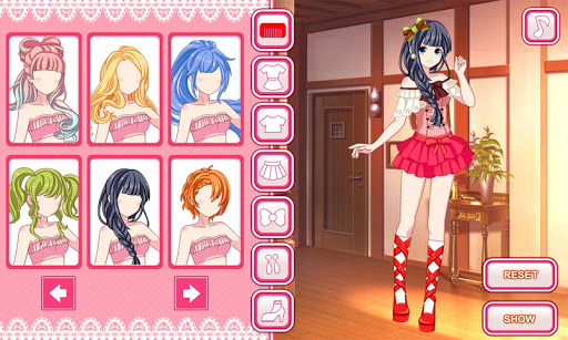 Anime dress up game 1.0.0 screenshots 1