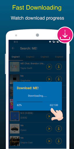 Mp3 Music Downloader & Free Music Download 1.0.4 screenshots 2