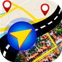 GPS Navigation 2019 & Maps Route Traffic icon