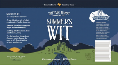 Logo of Buffalo Bayou Summer's Wit