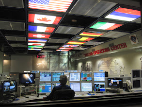 Photo: International Space Station Payload Operations Center at MSFC