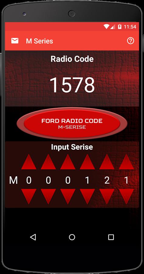 Ford Radio Code V Serial Software Download