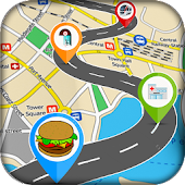 GPS Route Finder & Location Navigation Maps