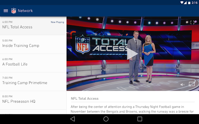 NFL Mobile Android 8