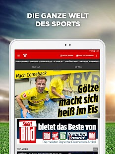 Sport BILD: News & Videos zu Bundesliga und Sport- screenshot thumbnail