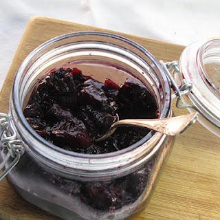 Blueberry Ginger Vanilla Jam
