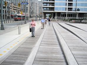 Photo: Walking along the waterfront towards the Toronto Music Garden