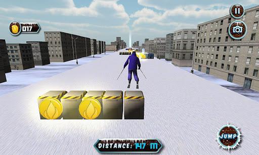3D実スノースケートシミュレータ