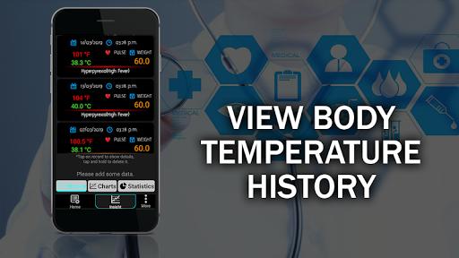 Body Temperature Checker Diary : Info History Log screenshot 2