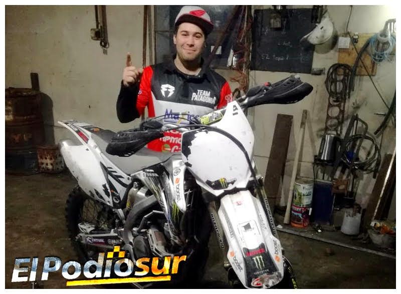 """""""Estoy feliz de volver a subirme a la moto"""", dijo Acevedo"""