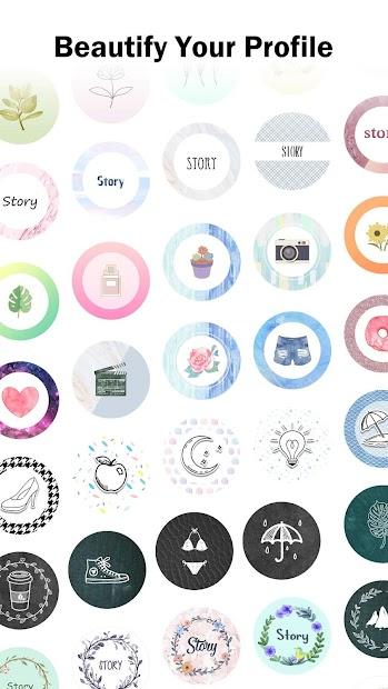 Highlight Cover Maker for Instagram Story Android App Screenshot