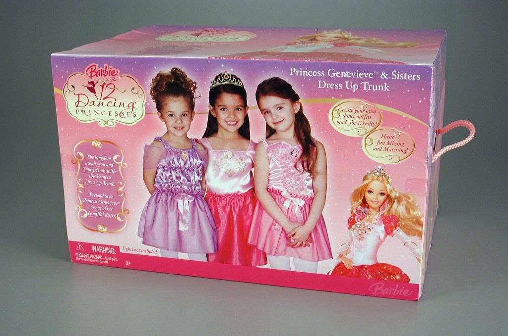Play Set Costume Barbie In The 12 Dancing Princesses Princess
