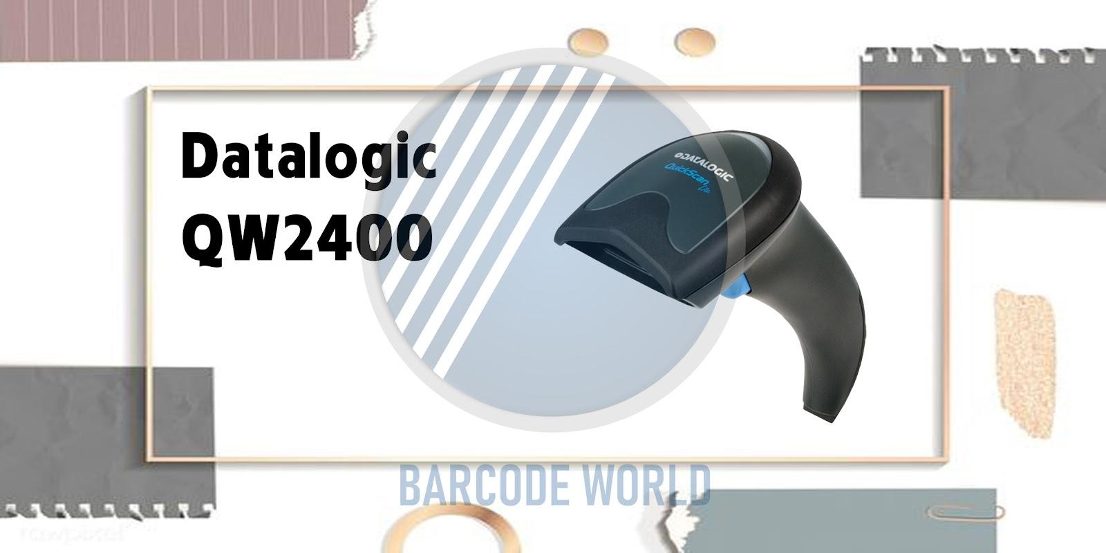 Máy quét barcode Datalogic QW2400 phù hợp cho bệnh viện, y tế I Thế Giới Mã Vạch