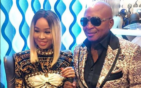 Kenny Kunene and Nonkululeko are expecting again.