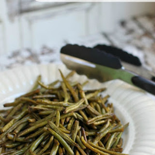 Roasted Green Beans Recipe   Easy Low Carb Snack or Side