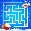 Christmas Mazes icon