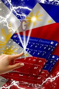Philippines Keyboard Theme - náhled