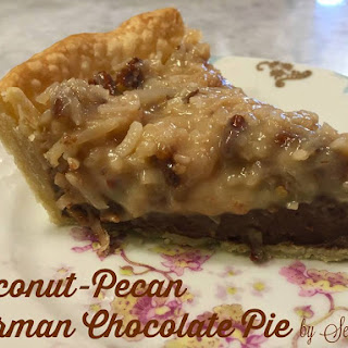 Coconut-Pecan German Chocolate Pie.
