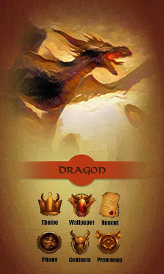 Dragon  GO Launcher Theme - screenshot