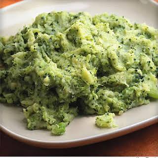 Cheesy Broccoli-Potato Mash.