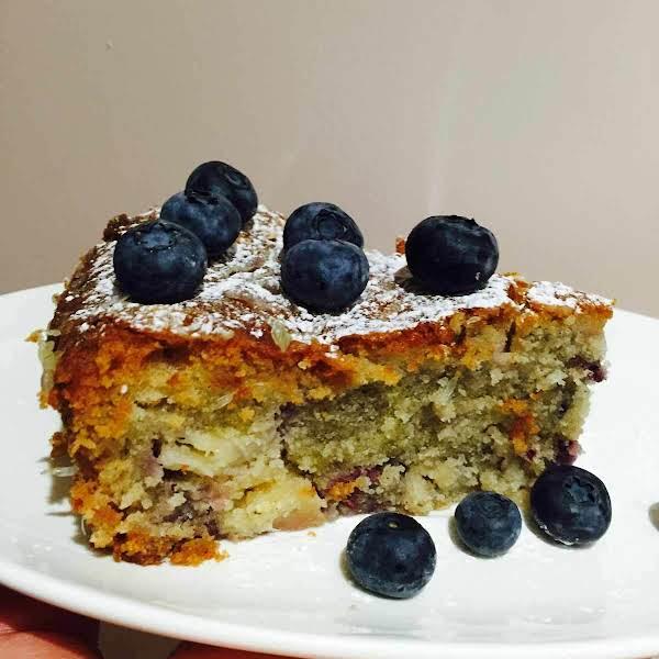 Pineapple Berries And Coconut Cake Recipe
