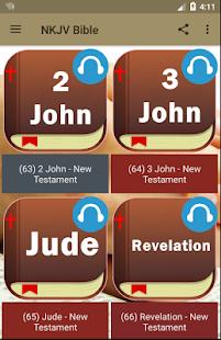 NKJV Bible Free App. - náhled