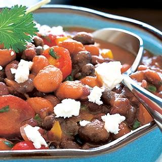 Spicy Three-Bean Ragout