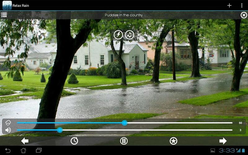 Relax Rain ~ Rain Sounds Screenshot 9