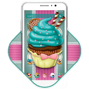 Sweet Chocolate Cupcake Theme