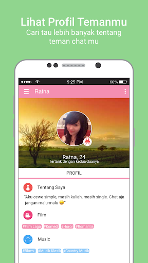 Peri Cinta Jakarta: Free Chat for Ladies 1.0.12 screenshots 4