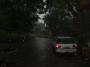 Photo: Il parait que nous avons eu un orage!
