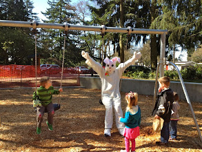 Photo: 2012 egg hunt and park playground and spray - 54
