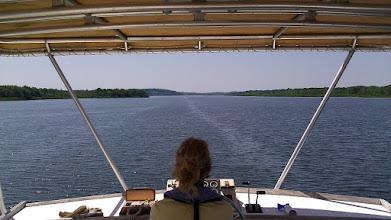 Photo: Cruising through Rice Lake on the way to Peterborough
