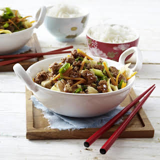 Beef and Ginger Stir Fry.