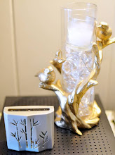 Photo: One of my Fresh Accents displayed on a console table.