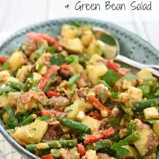 Bacon-Feta Potato & Green Bean Salad