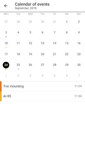 MyCar - Expenses 0.8.5 screenshots 4