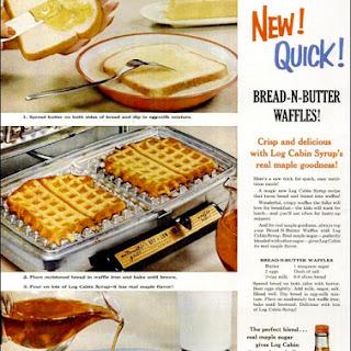 Bread-N-Butter Waffles Recipe