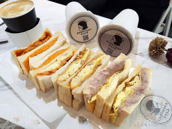 EVERYDAY CAFE 肉蛋吐司鮮奶茶咖啡專門台北中山店