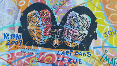 "Photo: East Side Gallery; Andreas Paulun ""Amour, Paix"""