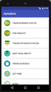 Indian Rail Train Info IRCTC Apk  Download For Android 1