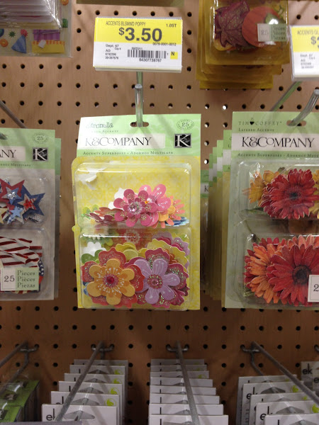 Photo: Cute flowers for scrapbooking!