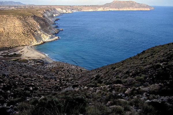 Parque Natural Cabo de Gata-Níjar, cala del Plomo.