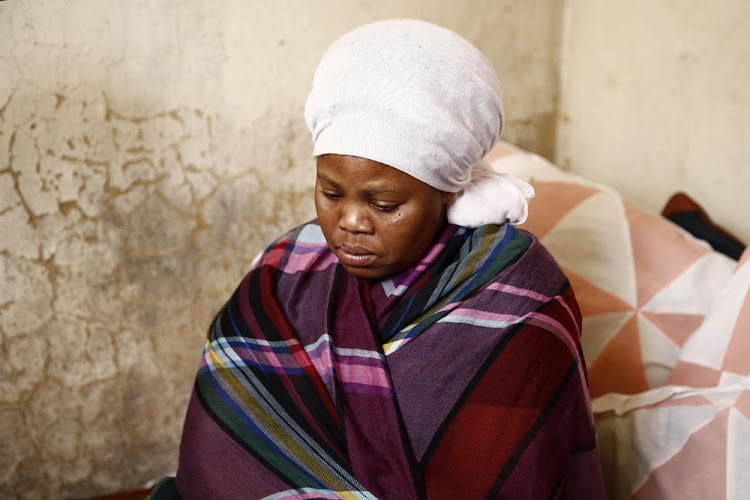 Andiswa Ndibi is in mourning following the discovery of the bodies of her two children who were brutally murdered. A man has been arrested for the murders.