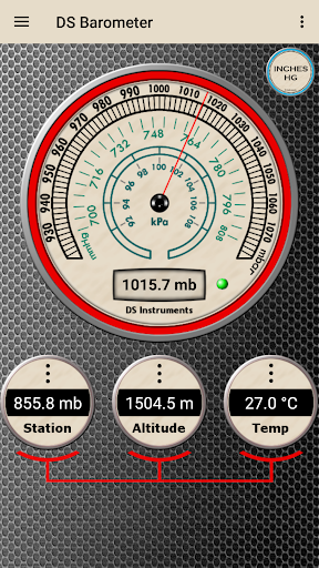 DS Barometer - Altimeter and Weather Information  screenshots 1