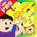 Kids Drawing Board Pro icon