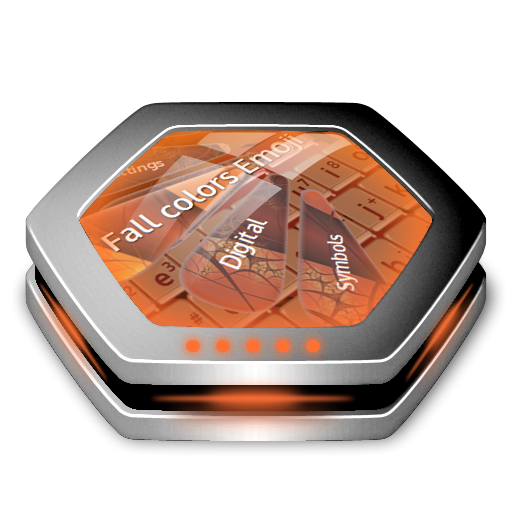 秋天的顏色表情符號 個人化 App LOGO-硬是要APP
